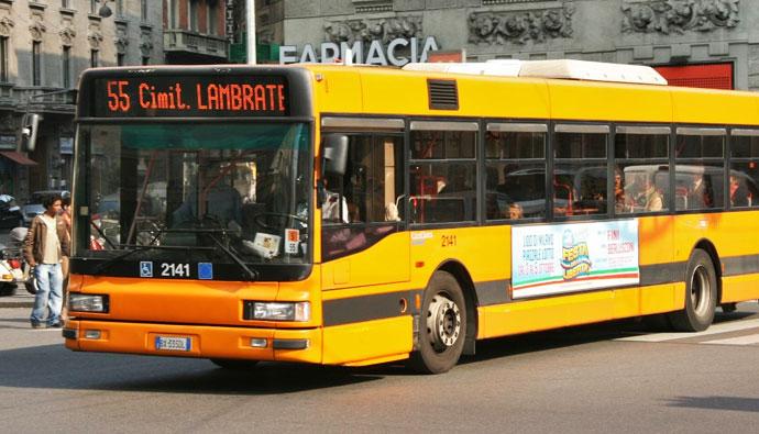 Автобусы Милана, трамваи