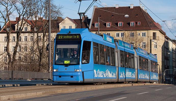 Трамваи в Мюнхене